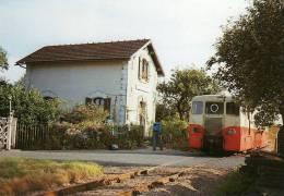Baliziaux 125 - Autorail Verney à La Halte De TERRE NEUVE - LUCAY LE MALE (36) - BA / SNCF - - Francia