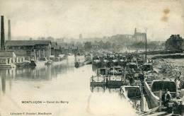 N°22571 -cpa Montluçon -canal Du Berry- - Montlucon