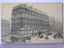 PARIS - CENTRAL HOTEL - 1925 - Bar, Alberghi, Ristoranti