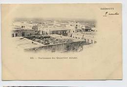 DJIBOUTI : Terrasses Du Quartier Arabe - 25 - Gibuti