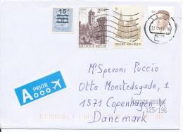 Belgium Cover Sent To Denmark 19-5-2011 - Cartas