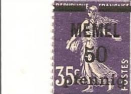 MEMEL Scott # 23 (1) * 1920
