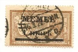 MEMEL Scott # 26 (1) O 1920