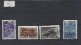 Rusland Gebruikt (USED) Mi  1246-1249 - 1923-1991 USSR