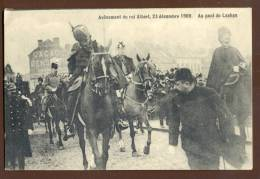 1782   Avènement Du Roi Albert.  23 Décembre 1909. Pont De Laeken - Feiern, Ereignisse