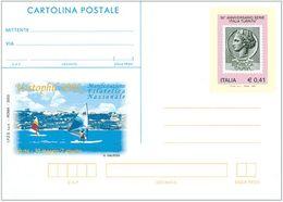 REPUBBLICA ITALIANA INTERO POSTALE VASTOPHIL FR.LLO ITALIA TURRITA 2003 - EURO 0,41 - CATALOGO FILAGRANO C253 – NUOVA ** - 1946-.. République