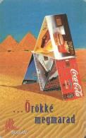 COCA-COLA SOFT DRINK McDONALD´S FAST FOOD ZWACK UNICUM RENAULT TWINGO CAR PHONECARD PYRAMID CALENDAR MATAV 1996 Hungary - Calendriers
