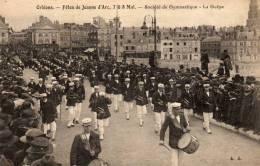 /45/  ORLEANS FETES DE JEANNE D ARC GYMNASTIQUE  LA GUEPE - Orleans