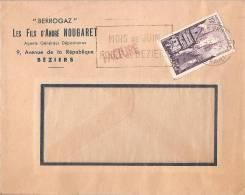 Nougaret Beziers Berrogaz-juin Foire De Beziers-1955-n° 979 - France