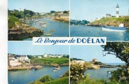 CPSM - 29 - DOELAN - Le Port, Les Phares, L'entrée Du Port  Et Le Port  - 011 - Unclassified