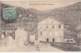 CPA ITALIE ITALIA VENTIMIGLIA Vallone S. Secondo 1922 - Imperia