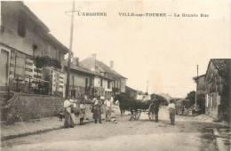 51 VILLE SUR TOURBE LA GRANDE RUE - Ville-sur-Tourbe
