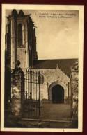 Cpa Du 29 Carhaix Ker Ahès Entrée De L' église De Plougueur   PLOZ5 - Carhaix-Plouguer