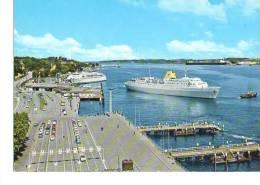 Schiff Fähre PKW Automobil Kiel Oslo-Kai 70er - Dampfer