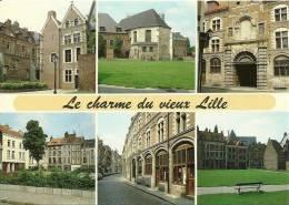 CPSM De LILLE (59000) : Le Charme Du Vieux Lille - 6 Vues. - Lille