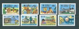 Barbuda Mail : 611/ 614 + 619/ 622 ** - Antigua Et Barbuda (1981-...)