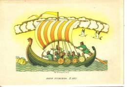 Barche.imbarcazioni -nave  Vichinga X Sec. - Barche
