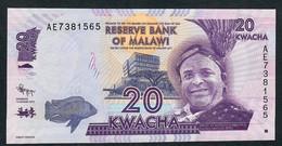 MALAWI  COMPLETE SET 2012 P57-62    20,50,100,200,500 & 1000 KWACHA 2012        UNC. - Malawi