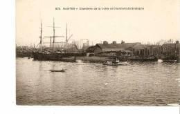 44 - NANTES : Chantiers De La Loire Et Chantiers De Bretagne - Nantes