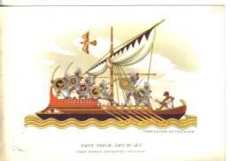 Barche.imbarcazioni- Nave Greca Sec. VI A.c. - Barche