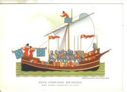 Barche.imbarcazioni- Nave Francese Sec. XIII - Barche