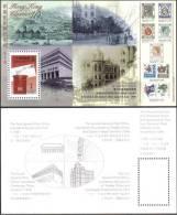 Mail Box Post Office History Building MS HK Stamp MNH - Hong Kong (1997-...)