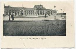 Mons - La Gare Et Le Square - Mons