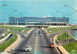 Val De Marne - Grd Format - Ref G859- Aeroport De Paris - Orly -l Aerogare   -carte Bon Etat - - Vliegvelden