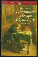 """""""The Concise Dictionary Of English Etymology""""  By  Walter W Skeat.  The Origins And Roots Of The English Language. - Language Study"""
