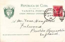 CUBA - HABANA - CALLE DEL PRADA - Cuba