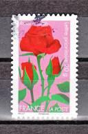 "FRANCE / 2012 / Y&T N° AA 669 : ""Fleurs"" (Rose/Passion) - Choisi - Cachet Rond - Frankreich"