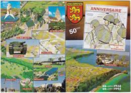1250-France 14-Normandie-Aniversaire Du Debarquement En Normandie-Multivues - France