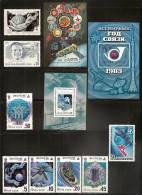Russia USSR Cosmos In 8 Sets, MNH (**) - 1923-1991 USSR