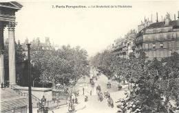 Paris- Perspective, Le Boulevard De La Madeleine. - Panoramic Views