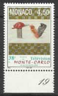 MONACO , 4.50 F  , 38 Festival De Télévision De Monte-Carlo , 1998 , N° YT 2146 - ( NEUF ) - Monaco
