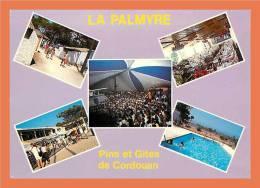 17 - LA PALMYRE - LES MATHES - Les Pins Et Gites De Cordouan // CPM Multivues ( Petit Pli Coin Bas Gauche) - Les Mathes