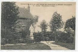 Monastère De N.-D. Des Anges De Tourcoing à Néchin - Jardin - Parc Du Sacré-Coeur - 1923 - Estaimpuis
