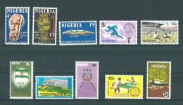 Nigéria: 274/ 280 + 298/ 300 ** - Nigeria (1961-...)