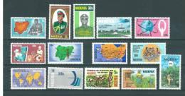 Nigéria: 336/ 338 + 343/ 353 ** - Nigeria (1961-...)