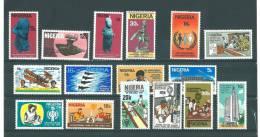 Nigéria: 358/ 373 ** - Nigeria (1961-...)