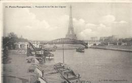 Paris- Perspective De L'Ile Des Cygnes. - Panoramic Views