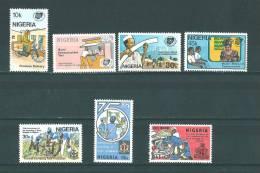Nigéria: 425/ 428 + 433/ 435 ** - Nigeria (1961-...)
