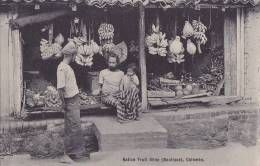 ¤¤  -  COLOMBO   -   Native Fruit Shop   -  Marchand De Fruits  -  ¤¤ - Sri Lanka (Ceylon)