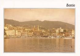 Cp , 20 , BASTIA , Vue Générale , écrite , Ed : S.M.D. CIM - Bastia