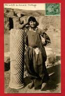 CPA Afrique Du Nord Tunisie Carthage Ruines   Lehnert & Landrock N° 322   Fille Bédouine - Tunisie