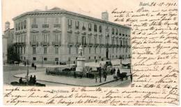 "Cartolina D´epoca     "" Bari  -  Prefettura  "" (rara Cartolina) - Bari"
