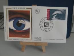 *FDC - L'Art Et La Philatélie , Grand Palais - Paris - 6.6.1975 France - Coté .. € - FDC