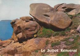 """Cp , 22 , PLOUMANACH ,"""" Le Sabot Renversé"""" , Vierge , Ed : Jack - Ploumanac'h"""