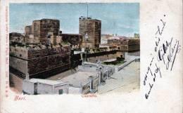 "Cartolina D´epoca     "" Bari  -  Castello   "" (rara Cartolina) - Bari"