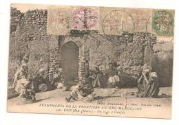 Lettre - BFE MAROC - OUJDA - Càd S/TP N°20x3 + N°21 + N°11 - 1908 - SUP - Maroc (1891-1956)